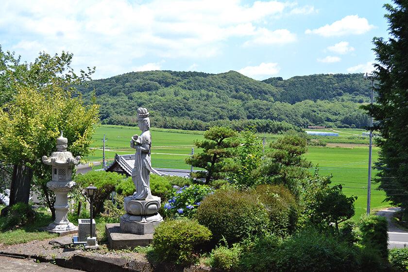 茨城県 阿弥陀院さんの見どころ「里山の中の静寂な空間」