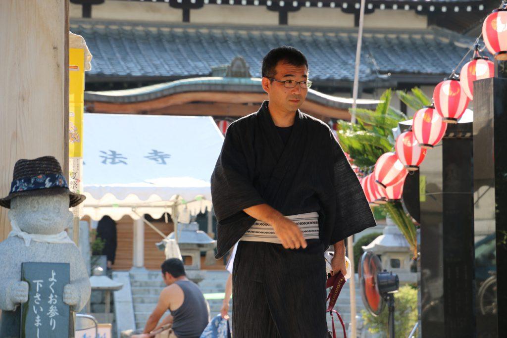 弘法寺には欠かせない存在となっている中野さん