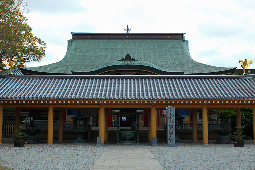 安楽寺本堂